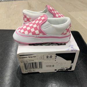 Vans for baby girl
